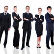 Group of successful business — Stock Photo #1520100