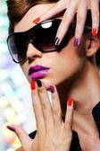 Glamour woman — Stock Photo
