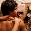 Relaxation and massage - Foto Stock