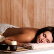Woman get relax in the spa salon — Stock Photo