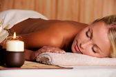 Dayspa for young beauty female — Stock Photo