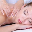 Girl relaxation in the spa salon — Stock Photo #1550194