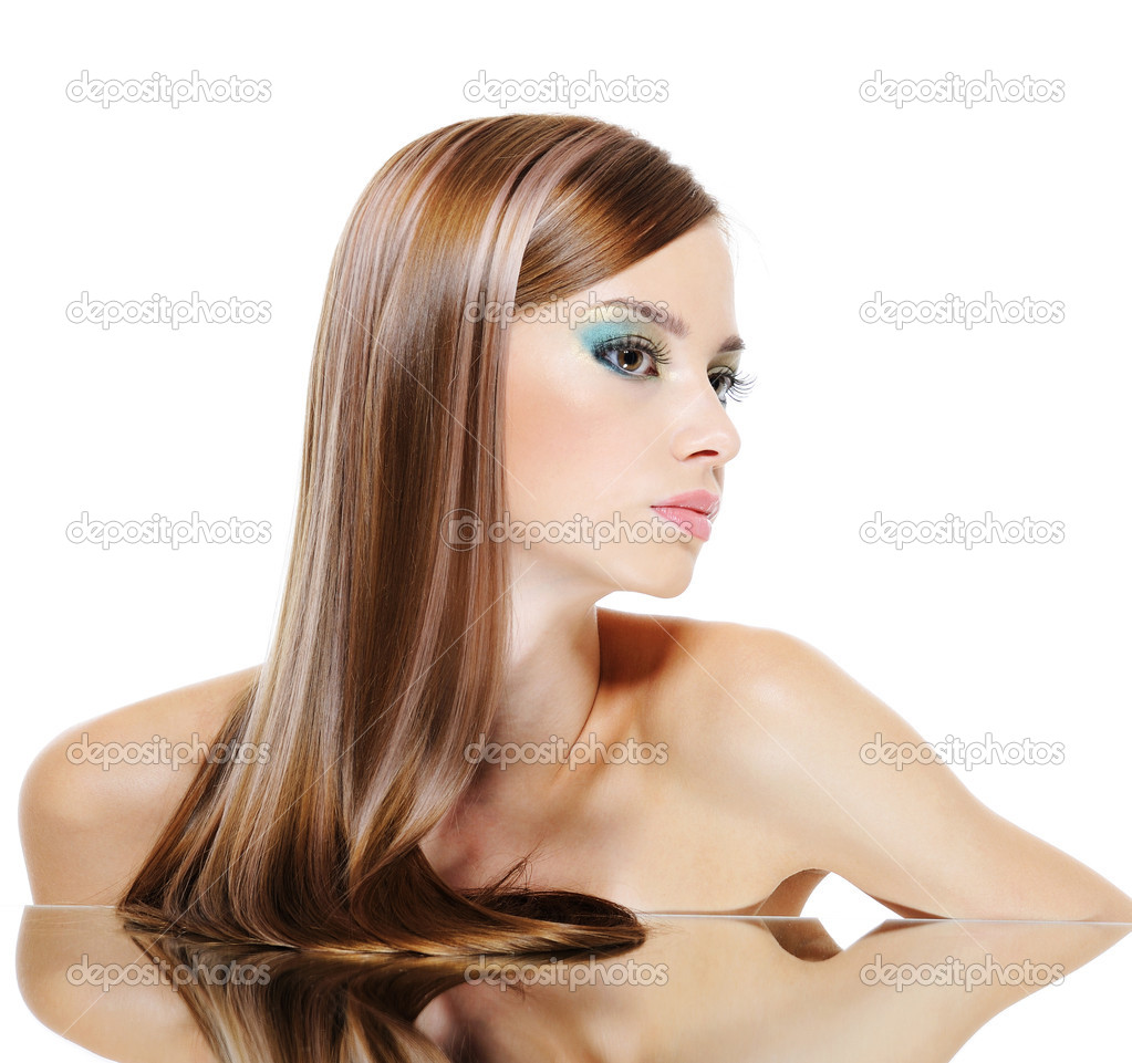 Фото красивых женских профилей 6 фотография