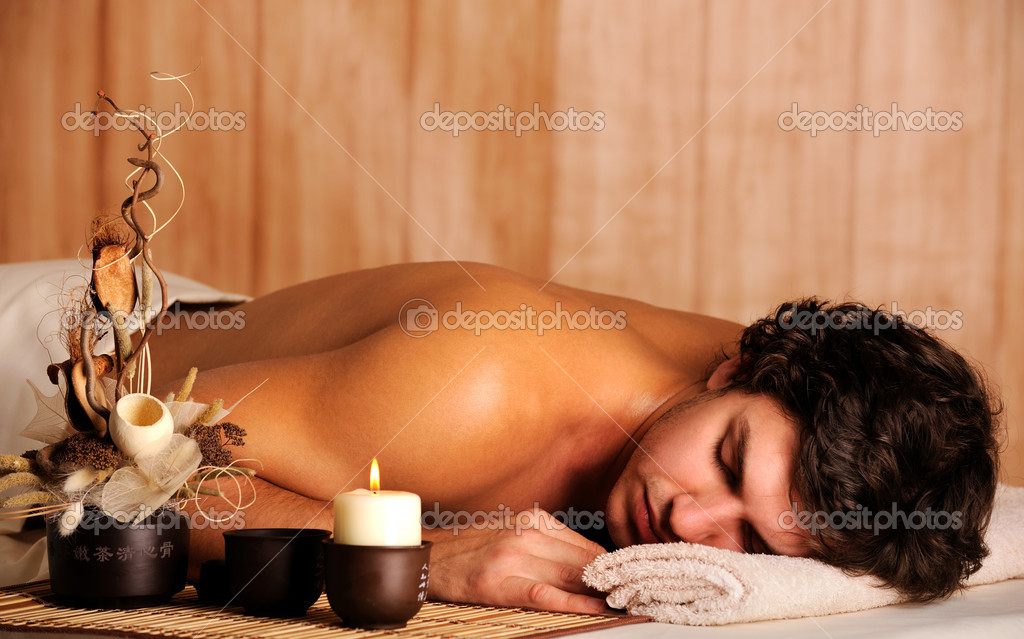 depositphotos 1601763 Handsome man relaxing in spa salon ... to gay massage in Bali, can help to reply some feedback on it though.