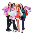 Foto de Stock  : Happy women with purchase