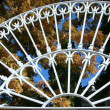 White ironwork — Stock Photo #1429957