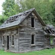 Stock Photo: Old rundown house