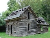 Old rundown house — Stock Photo
