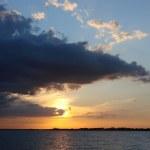 Sunset Gulf Of Mexico — Stock Photo