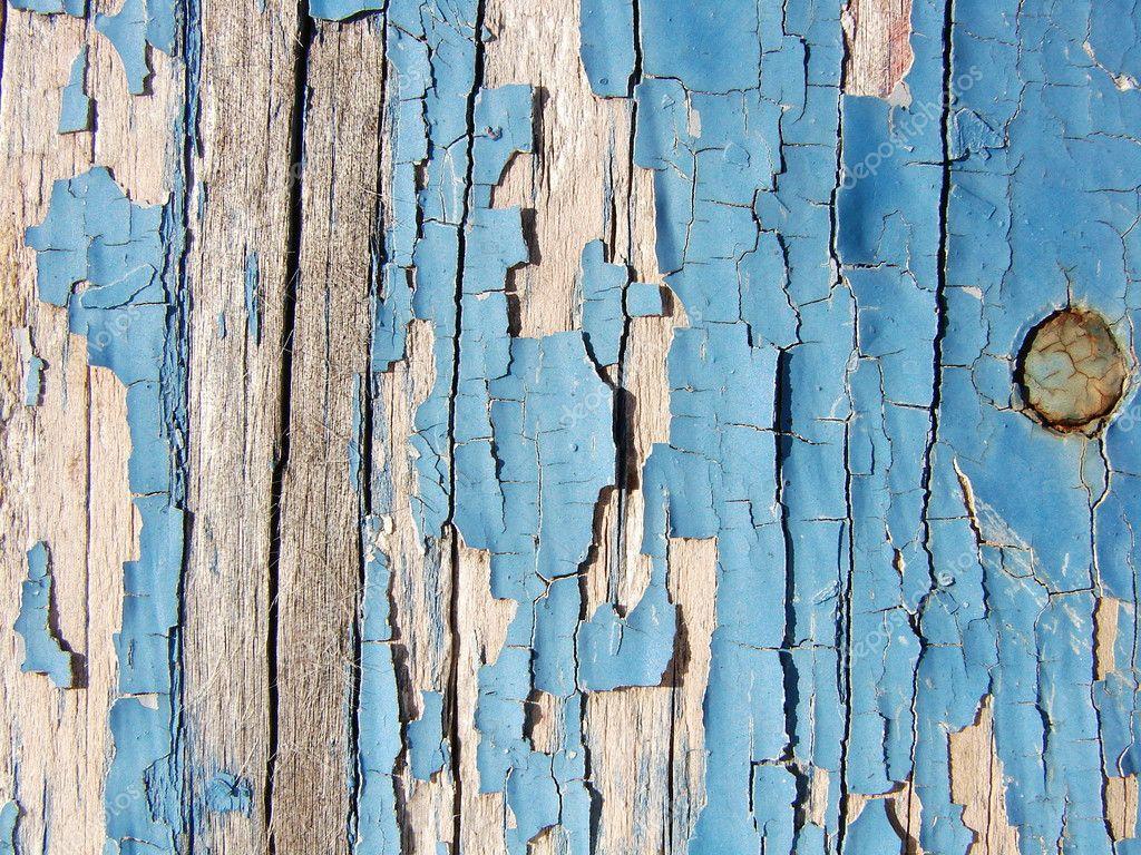 Checked And Peeling Blue Paint On Wood Stock Photo Jodygary97 1745524
