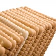Isolated biscuits — Stock Photo