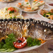 Pike prepared fish - Stock Photo