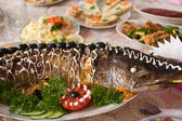 Pike prepared fish — Stock Photo