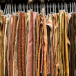 Textile showroom — Stock Photo