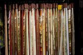 Textile shoeroom — Stock Photo