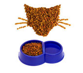 Fodder and CAT — Stock Photo