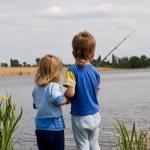 Little fishermen — Stock Photo #1423426