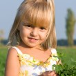 Portrait of the little girl — Stock Photo #1423503