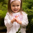 Little beautiful girl - Stockfoto