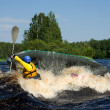 Kayak on river — Stock Photo #1427337