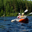 Kayak on river — Stock Photo #1427769