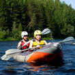 Kayak on river — Stock Photo #1427851