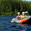Kayak on river - 