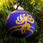 Boże Narodzenie-ozdoby choinkowe — Zdjęcie stockowe