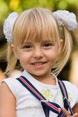 Portrait of the little girl — Stock Photo