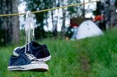 Campsite — Stock Photo