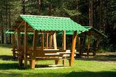 Résidence d'été dans le parc — Photo
