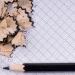 Black pencil — Stock Photo #2253359