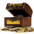 Treasure chest — Stock Photo #2582551