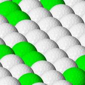 мячи для гольфа — Стоковое фото