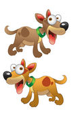 Vector dogs — Stock Vector