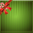 Green Christmas background — Stock Vector #1483280