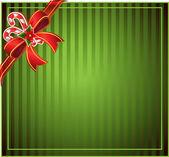 Fondo verde navidad — Vector de stock