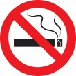 No smoking — Stock Vector #2562536
