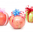 Stock Photo: Cristmas fruit.