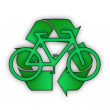 Stock Photo: Recycle Bicycle