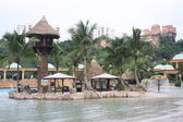 Water Park (Man-made Island) — Foto de Stock