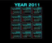 Anno di calendario 2010 — Foto Stock