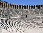 Old greek amphitheater Aspendos - Turkey — Stock Photo