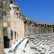 Old greek amphitheater Aspendos — Stock Photo