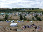 Campground — Stock Photo