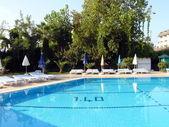 Waterpool in Turkey hotel — Stock Photo