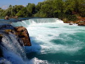Waterfall Manavgat — Stock Photo