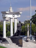 Monument of Alexander - Moscow — Stock Photo