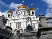 Temple of the Christ the Saviour — 图库照片
