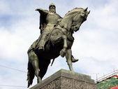 Monument of Yuri Dolgoruky - Moscow — Stock Photo